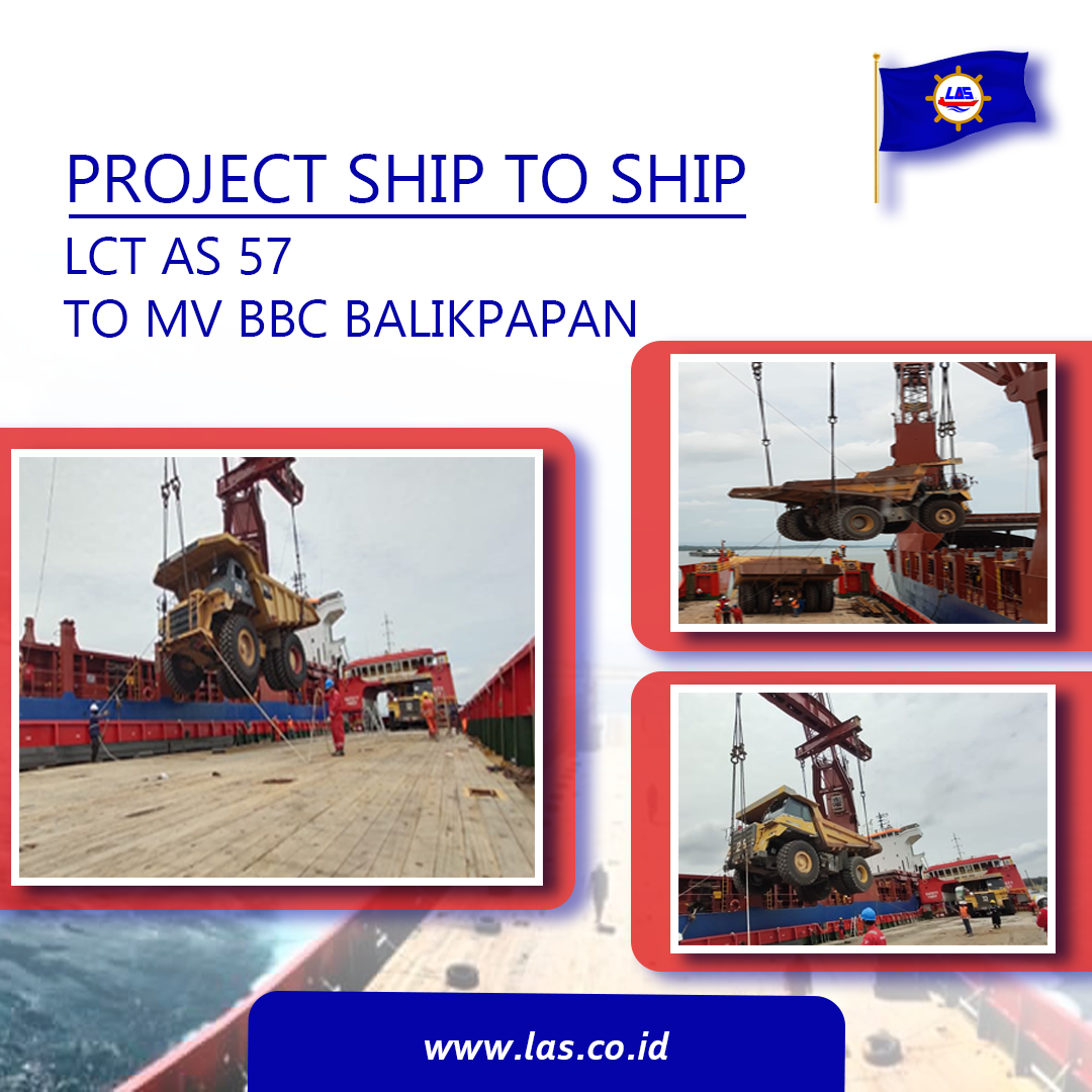 Project Ship to Ship LCT AS 57